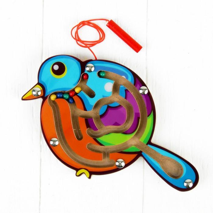 Лабиринт магнитный «Птичка»