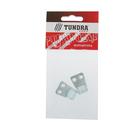 Крючок-вешалка №1 TUNDRA krep, покрытие цинк, 2 шт.