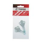 Крючок-вешалка №2 TUNDRA krep, покрытие цинк, 2 шт