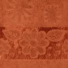 """Полотенце махровое """"Florans"""" 30х50 см, кирпичный 450 г/м2, бамбук 100 %"""