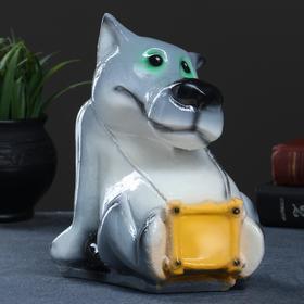 "Копилка ""Волк малый"" 15х15х21см"