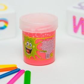 Слайм «Плюх»,розовый с шариками, туба 40 г в Донецке