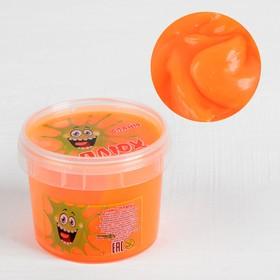 Слайм «Плюх»,оранжевый, контейнер 90 г