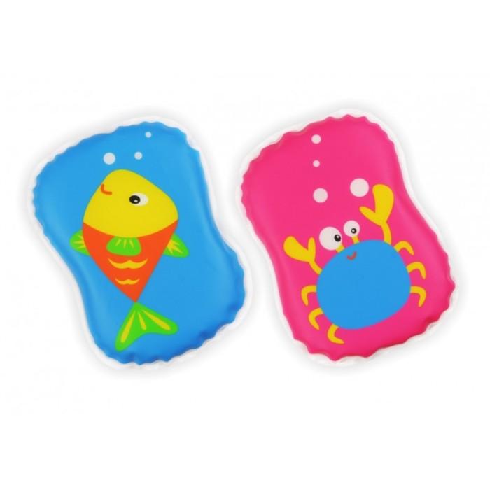 Игрушка для купания с пищалкой «Рыбка и Краб»