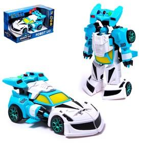 Робот «Полицейский», трансформируется, световые и звуковые эффекты