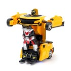 Робот радиоуправляемый «Автобот», трансформируется, световые эффекты, масштаб 1:18 - фото 105504317