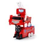 Машина «Автобот», трансформируется, световые и звуковые эффекты, работает от батареек - фото 105504591