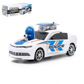Машина-трансформер «Полицейский Автобот», световые и звуковые эффекты, работает от батареек