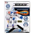 Робот «Ракетчик» световые и звуковые эффекты, стреляет ракетами, работает от батареек, цвета МИКС - фото 105508320
