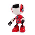 Робот «Вольт», световые и звуковые эффекты, работает от батареек, цвета МИКС - фото 105508082