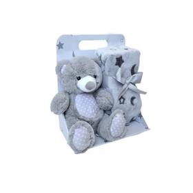 Набор: игрушка «Мишка» + детский плед