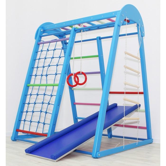 Детский спортивный комплекс Tiny Champion, цвет синий