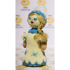 """Набор для вязания игрушки """"Снегурочка"""" 18х7 см"""