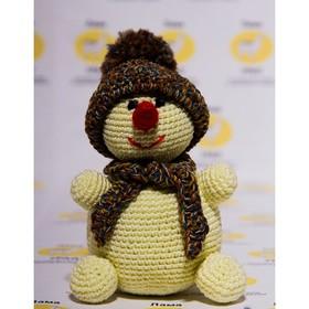 """Набор для вязания игрушки """"Снеговик"""" 24х10 см"""