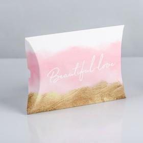 Коробка складная фигурная Beautiful love, 11 × 8 × 2 см в Донецке