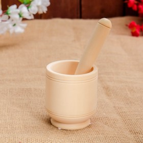 Mortar with pestle 13 cm