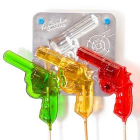 Набор для приготовления леденцов и мармелада «Пистолет», цвет МИКС