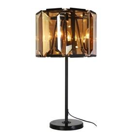 Настольная лампа Charlotte 4x40Вт E14 чёрный 42x42x70см