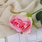 """Цветы искусственные """"Роза Аква"""" 5*40 см, розовый - фото 1692496"""