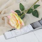 """Цветы искусственные """"Роза Гран При"""" 7*46 см, кремовый"""
