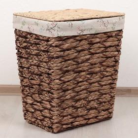 Корзина универсальная плетёная Доляна «Соты», 34×25×40 см