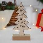 """Новогодний декор с подсветкой """"Снежное дерево"""""""