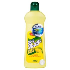 Крем чистящий для кухни и посуды FUNS с ароматом лимона, 400 мл