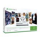 Игровая приставка Xbox One S, 1Tb + игр. абон. + Xbox LIVE: карта на 3 месяца, цвет белый