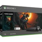 Игровая приставка Xbox One X 1Tb + Shadow of the Tomb Raider, цвет черный