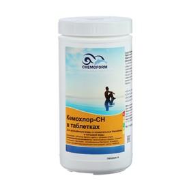 Средство для ударного хлорирования воды Кемохлор СН в  таблетках 1 кг Ош