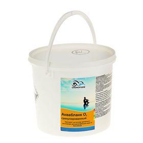 Активный кислород в гранулах для дезинфекции воды в бассейнах Аквабланк О2 гранулированный 5
