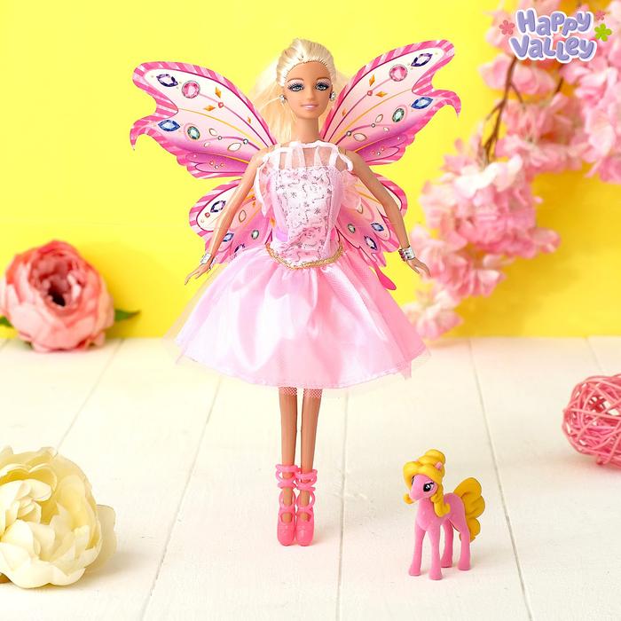Кукла «Волшебная фея Камелия», МИКС