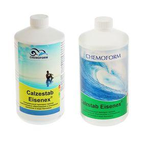 Препарат,препятствующий образованию металлов и известкового рас-ра в воде Calzestab-Eise 1л. Ош