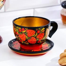 A couple of tea, Khokhloma
