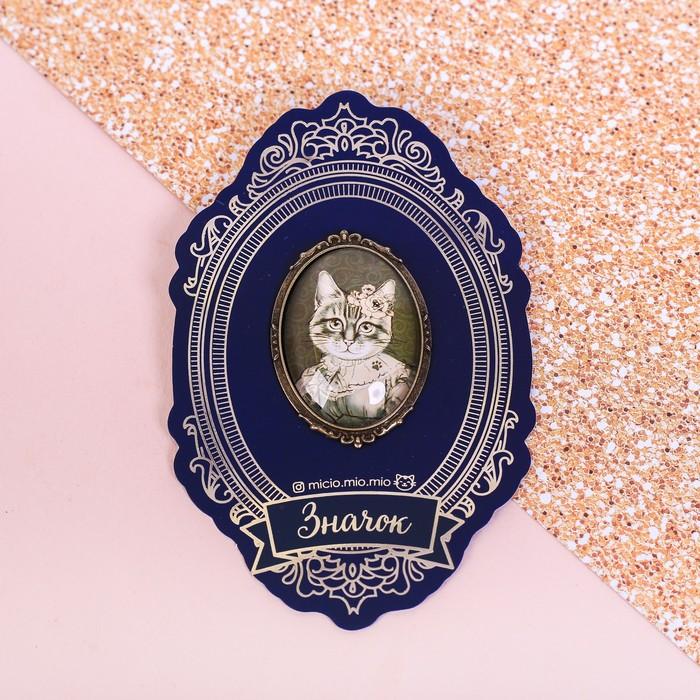 """Значок """"Кошка"""", 8 х 12 см - фото 245326607"""