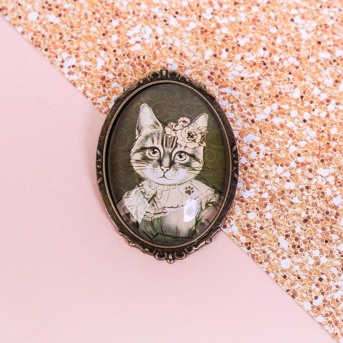 """Значок """"Кошка"""", 8 х 12 см - фото 245326609"""