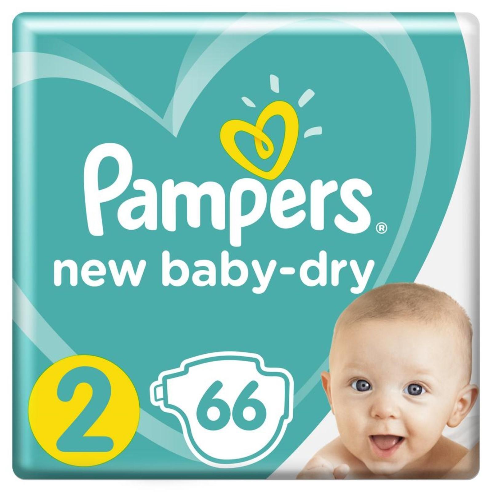 Подгузники Pampers New Baby-Dry Mini, 3-6 кг, экономичная упаковка ... 4b8fd9966d5