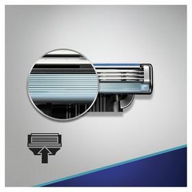 Сменные кассеты для бритья Gillette Mach3 Start, 4 шт. - фото 7445819