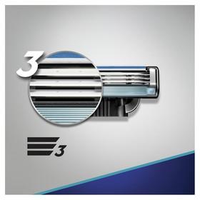 Сменные кассеты для бритья Gillette Mach3 Start, 4 шт. - фото 7445820