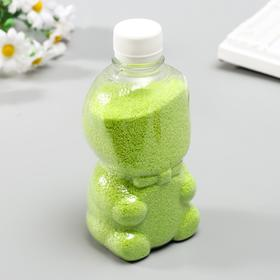"Sand color in bottles ""Green"" 500 gr"