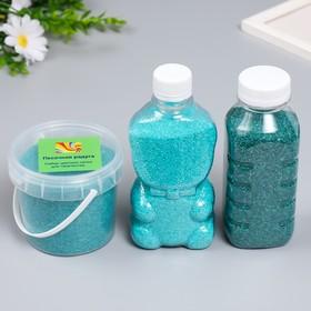 """Sand color in bottles """"Tiffany"""" 500 gr MIX"""