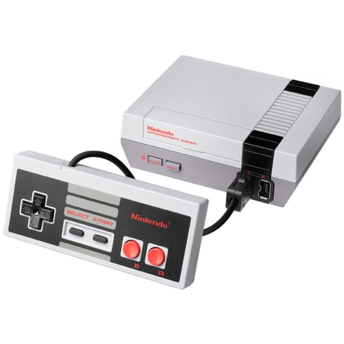 Игровая приставка Nintendo Classic Mini: Nintendo Entertainment System, цвет серый
