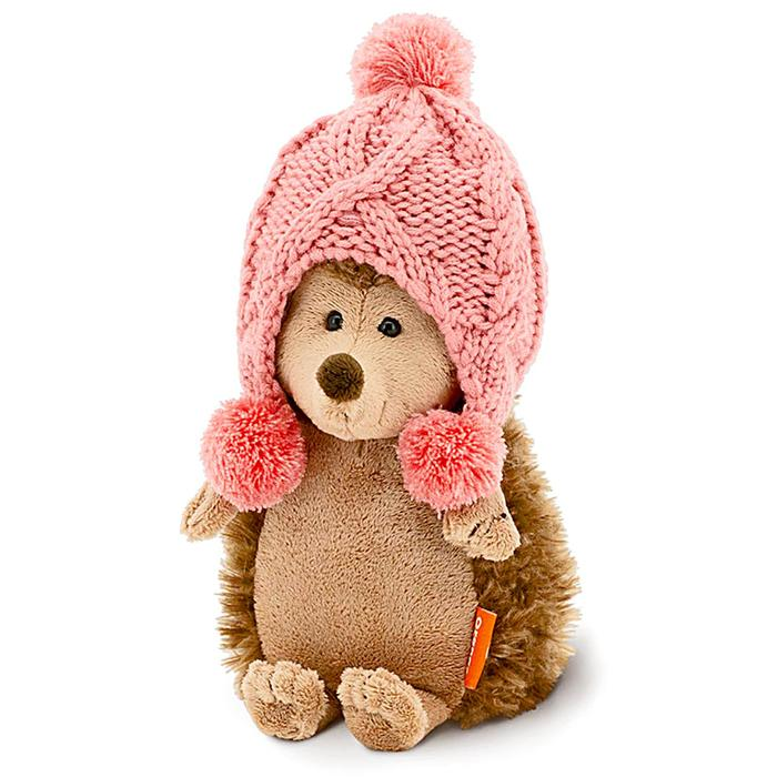 Мягкая игрушка «Ежинка Колюнчик: Зимние забавы», 20 см