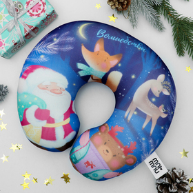 Подголовник-антистресс «Волшебства», новогодняя игрушка