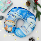 Подголовник-антистресс «Поверь в сказку», новогодняя игрушка, лисичка - фото 1051529