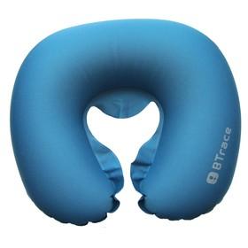 Подушка дорожная под шею Air, 44 x 37 х 8 см, цвет синий