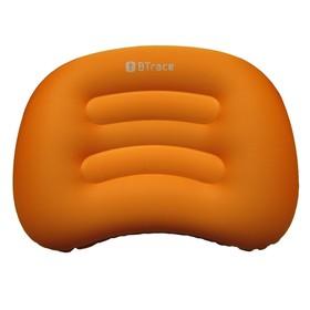 Подушка дорожная Air 51 x 36 х 8 см, оранжевый