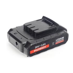 Аккумуляторная батарея PATRIOT 180201103, Li-ion, 2 Ач, 20 В, для шуруповертов серии The One   40222
