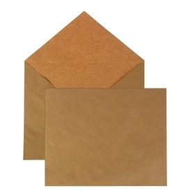 Крафт-конверт С4 229x324 мм, чистый, без окна, треугольный клапан, без клея, 80 г/м², в упаковке 500 шт.