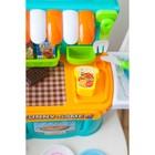 Игровой модуль кухня «Сладкоежка», с продуктами для резки - фото 998621